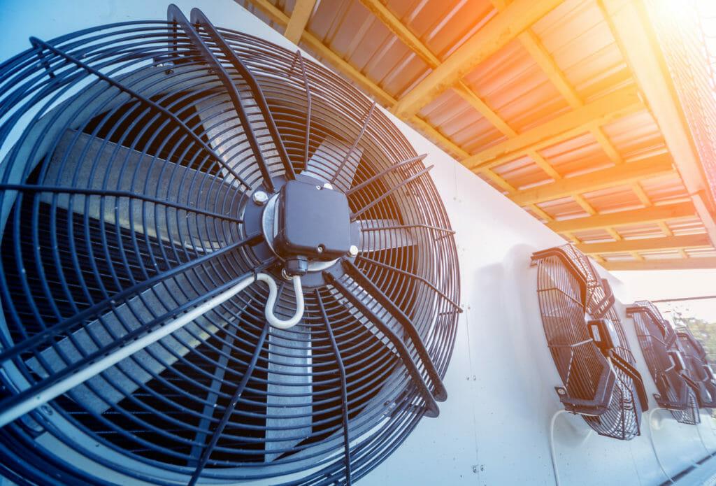 luftgekühlte Industriekühlanlage
