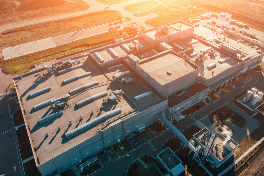 Ammoniak-Kälteanlage für Logistikzentrum
