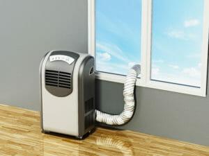 Fensterabdichtung Klimaanlage