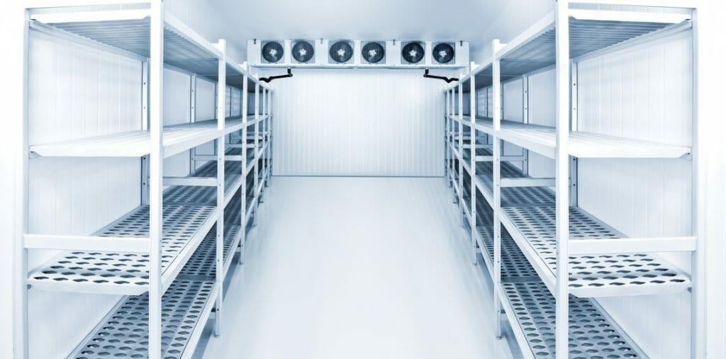 Kühlzelle zum lagern von Waren