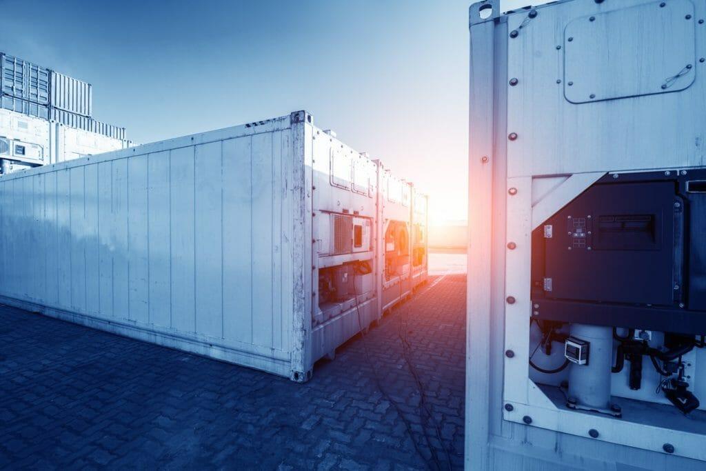 Mobiler Kaltwassersatz im Container