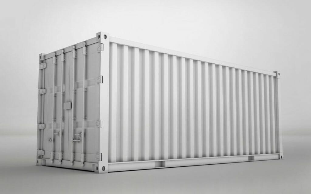 mobiler Heizcontainer