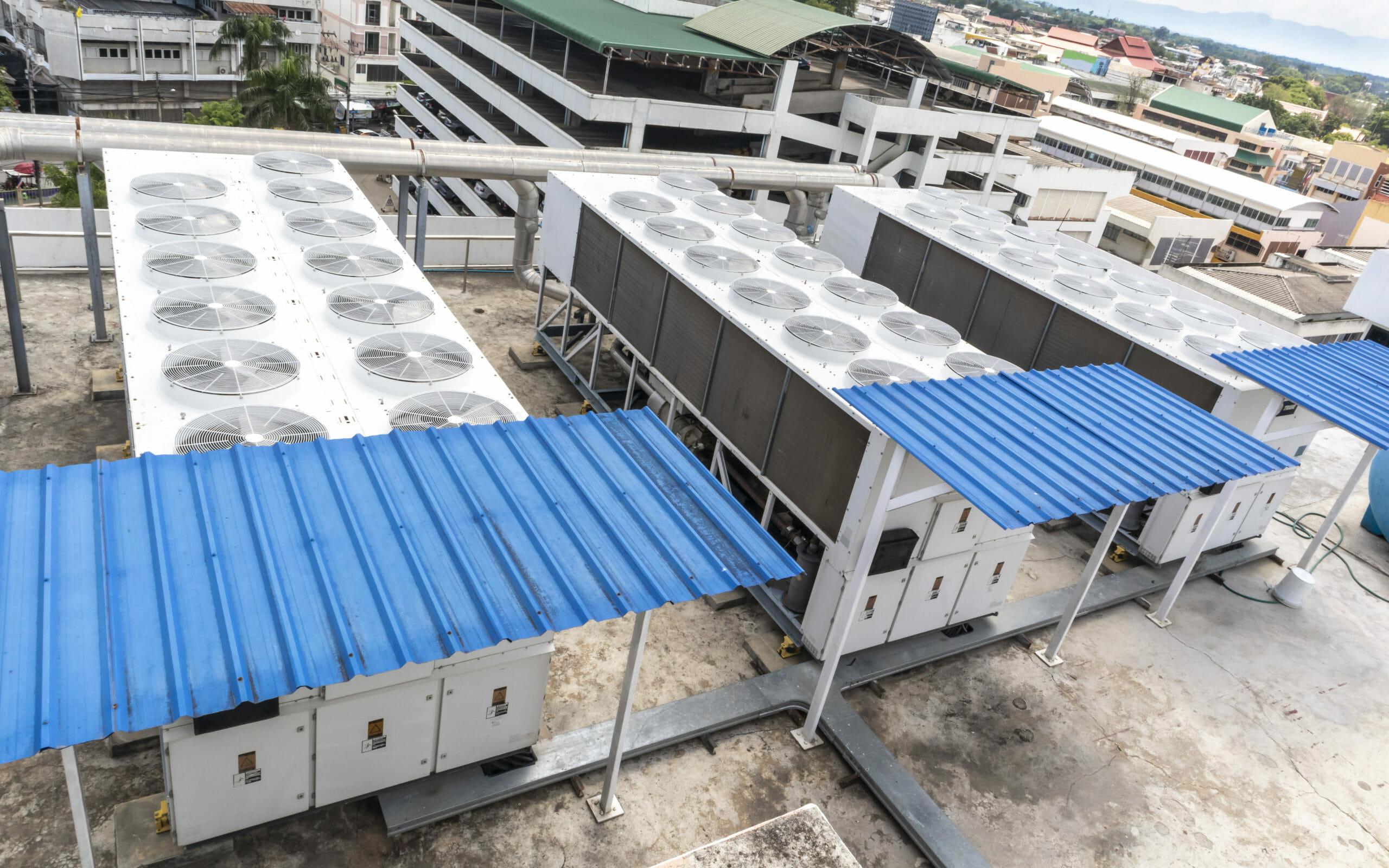 Kaltwassersatz Rückkühler Industrie