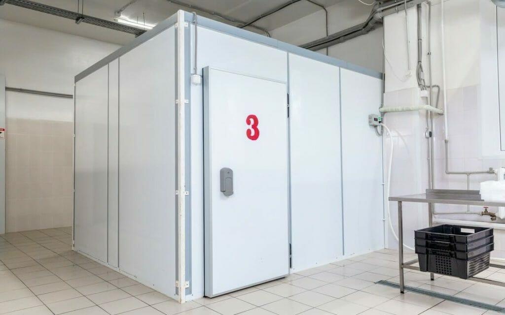 Kühlzelle im Raum