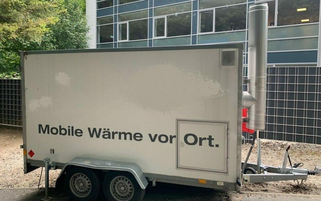 Mobile Heizung mieten