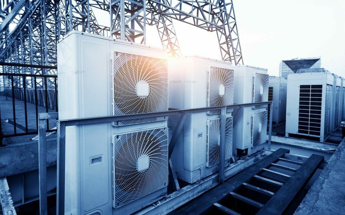 Splitgerät Klimaanlage Ausseneinheit