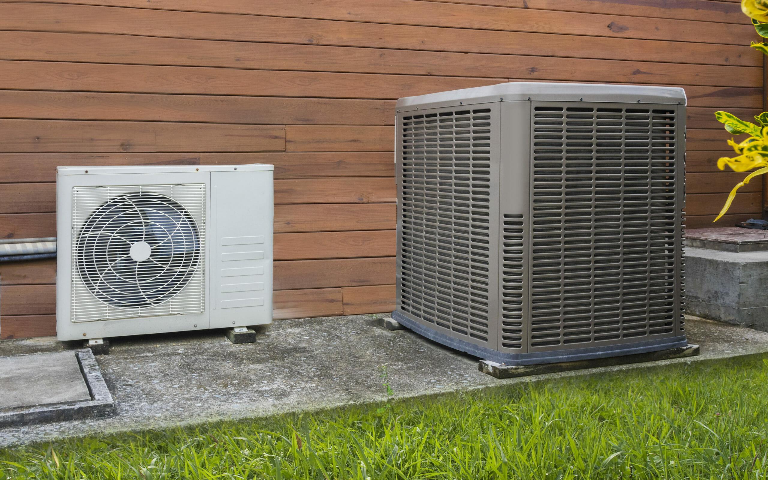 Wärmepumpen-Kältemaschine im Einsatz