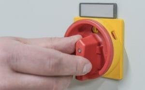 Notstromversorgung Schalter