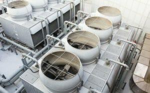 wassergekühlter Kaltwassersatz